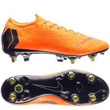 nike mercurial vapor 12 elite sg-pro anti-clog fast af - total orange/black/volt - football boots