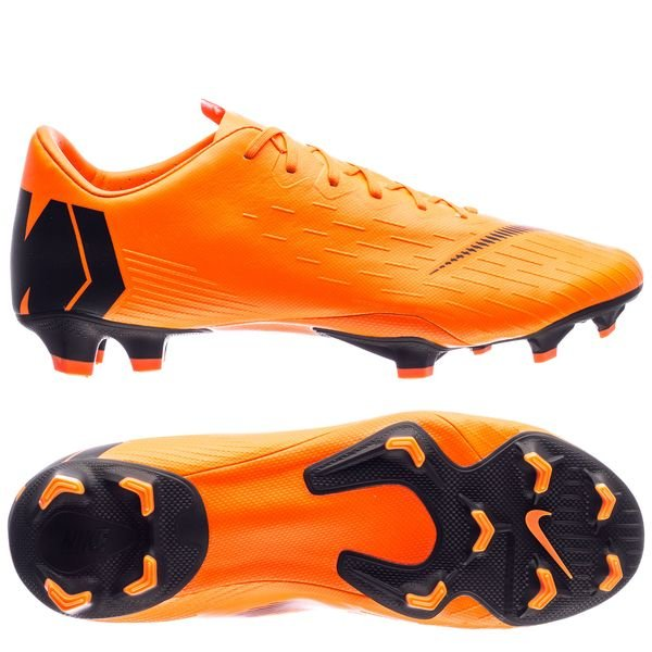 Nike Mercurial Vapor 12 Pro FG - Orange/Sort/Neon