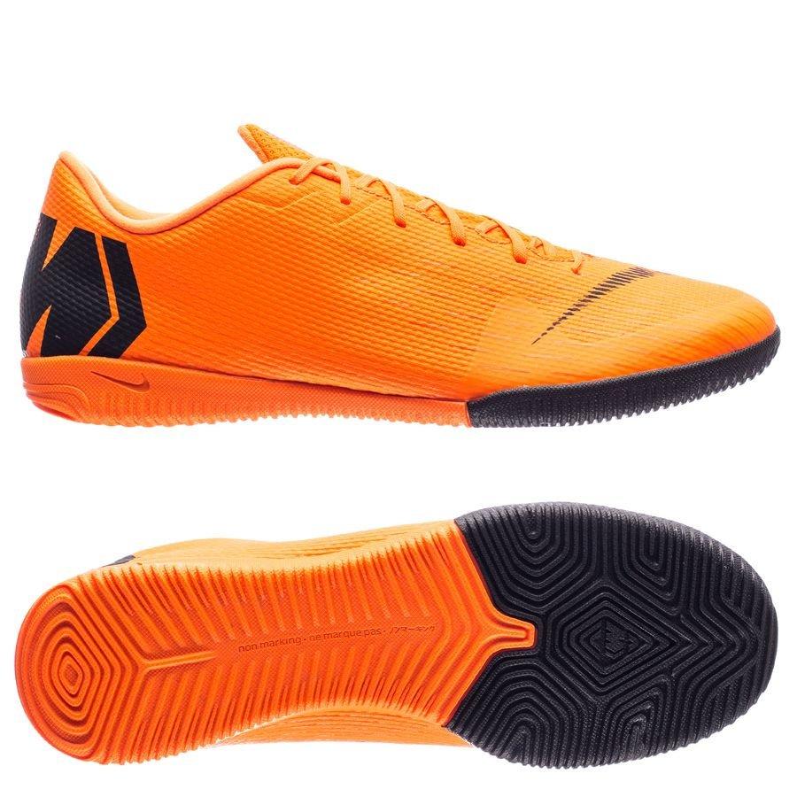 Nike Mercurial Vaporx 12 Academy Ic Jeûne Off - Orange / Noir / Néon MsbZD
