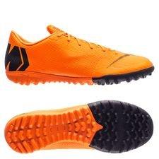 Nike Mercurial VaporX 12 Academy TF Fast AF - Oranje/Zwart/Neon