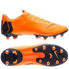 nike mercurial vapor 12 pro ag-pro fast af - orange/sort/neon - fodboldstøvler