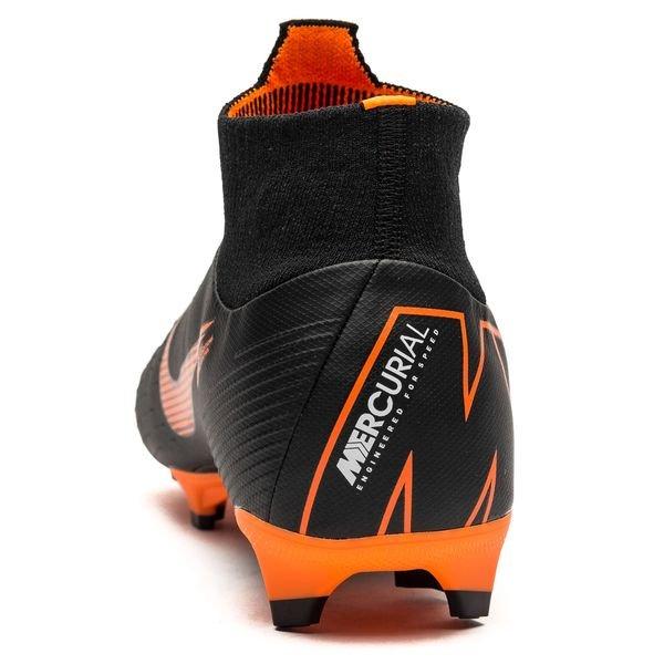sale retailer 5d1a8 c22f4 ... ireland nike mercurial superfly 6 pro fg fast af noir orange blanc  chaussures 539fc 109c8