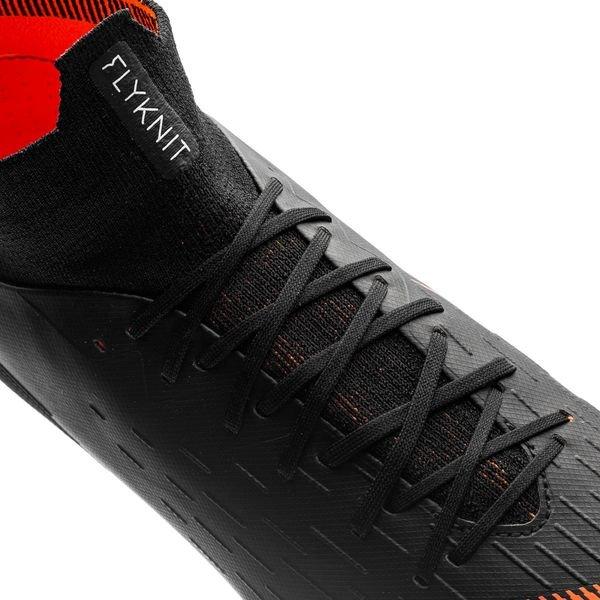 new styles 32757 c7a92 Nike Mercurial Superfly 6 Pro FG Fast AF - Svart Orange Vit