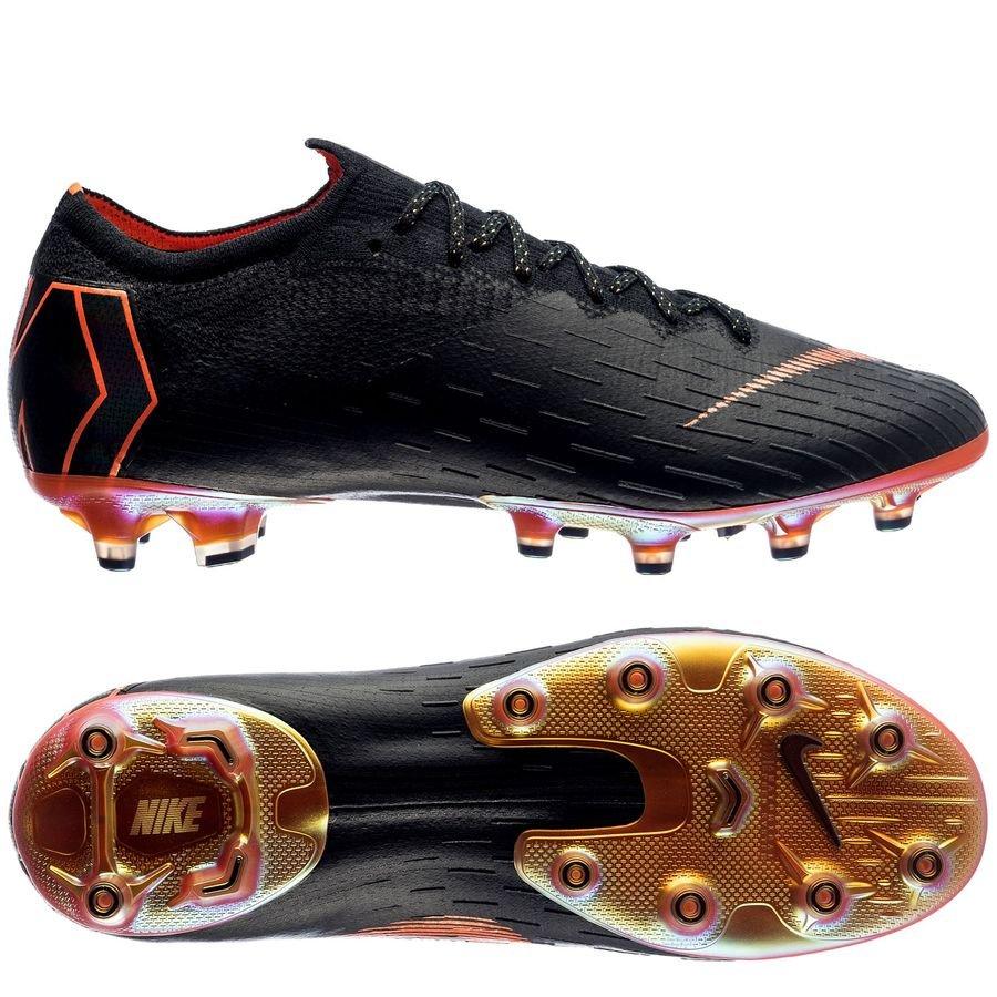41a5a4112d3e70 nike mercurial vapor 12 elite ag-pro - noir orange blanc - chaussures ...