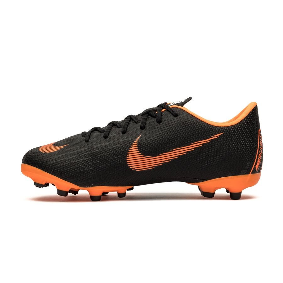 nike mercurial vapor 12 academy mg fast af schwarz orange wei kinder. Black Bedroom Furniture Sets. Home Design Ideas