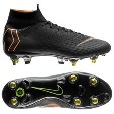 Nike Mercurial Superfly 6 Elite SG-PRO Anti-Clog - Sort/Orange/Hvid