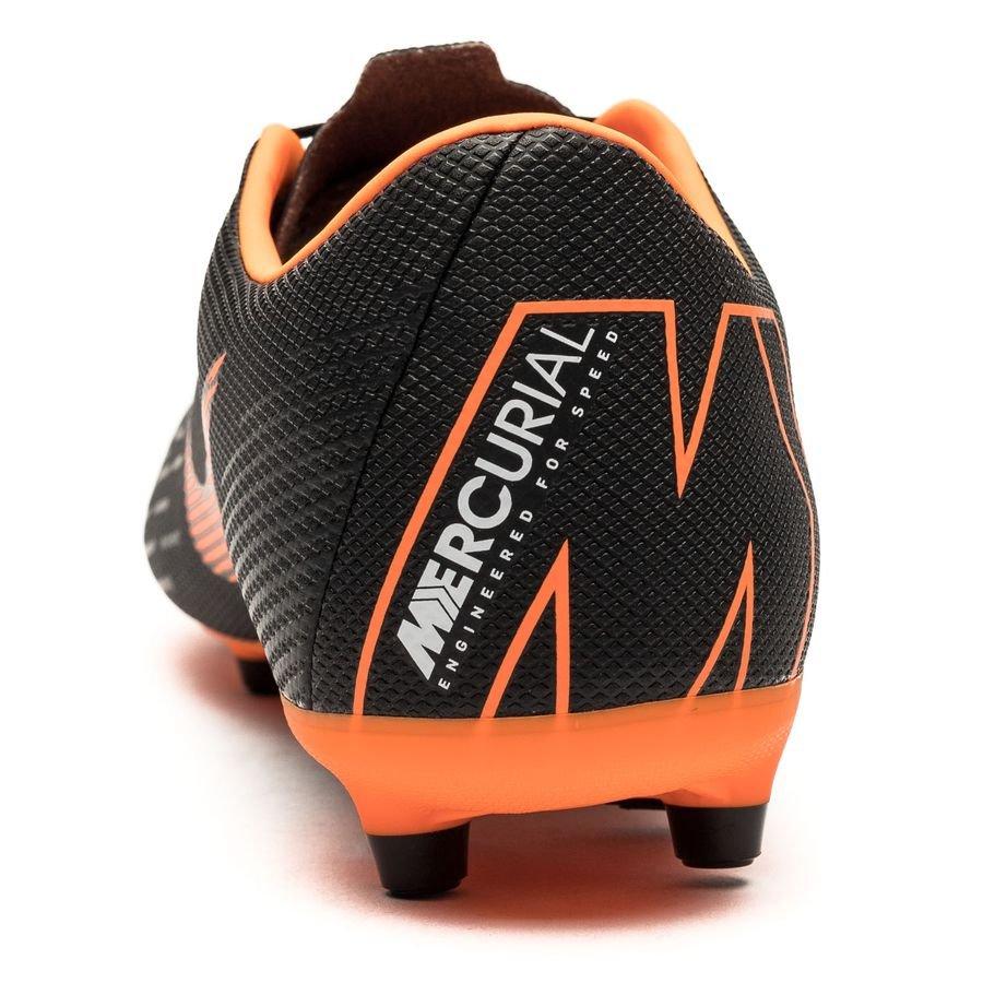 brand new 36511 1fe43 Nike Mercurial Vapor 12 Academy MG Fast AF - Svart Orange Vit    www.unisportstore.se