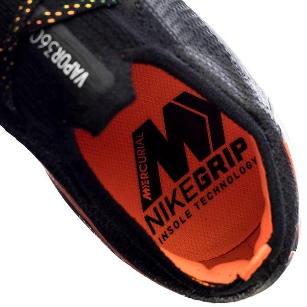 22cb4764c Nike Mercurial Vapor 12 Elite SG-PRO Anti-Clog - Sort Oransje Hvit ...