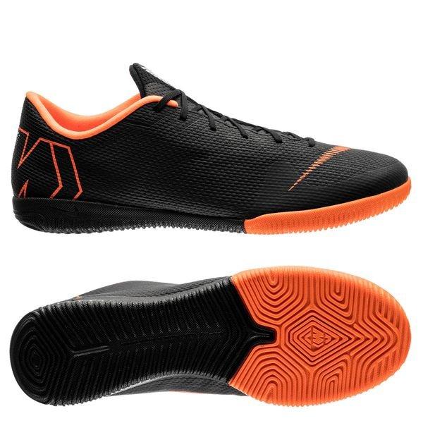 bd67f138780 Nike Mercurial VaporX 12 Academy IC Fast AF - Zwart/Oranje/Wit | www ...