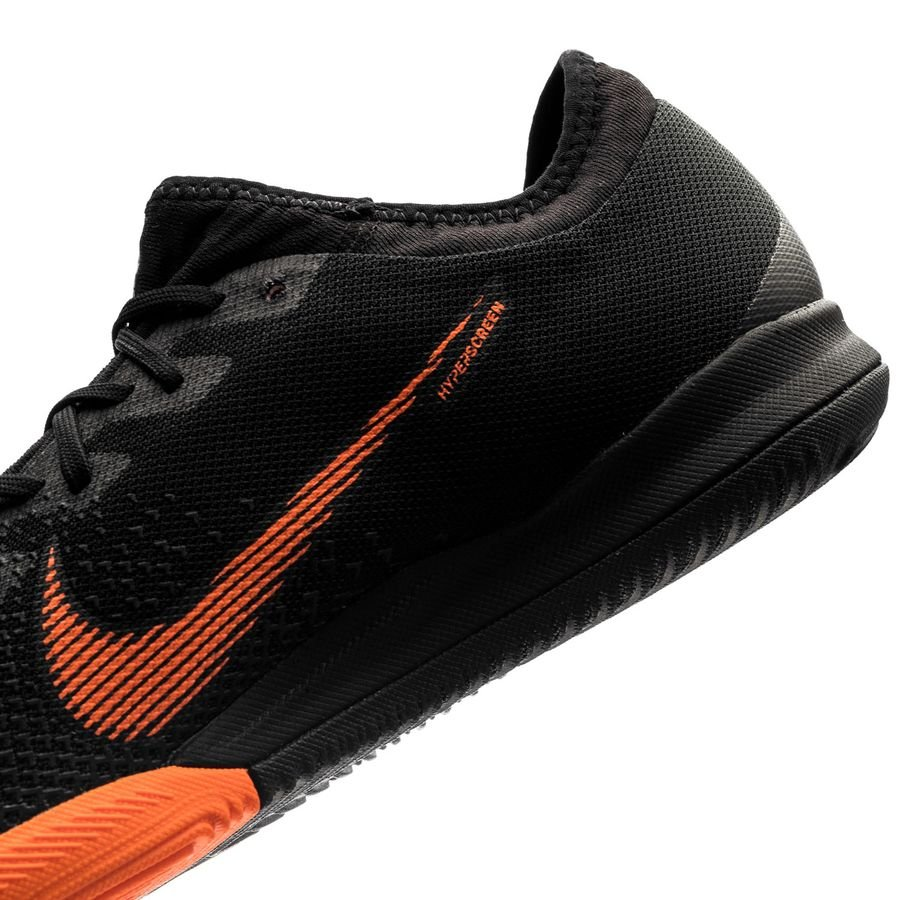 nike mercurial vaporx 12 pro ic fast af schwarz orange wei. Black Bedroom Furniture Sets. Home Design Ideas