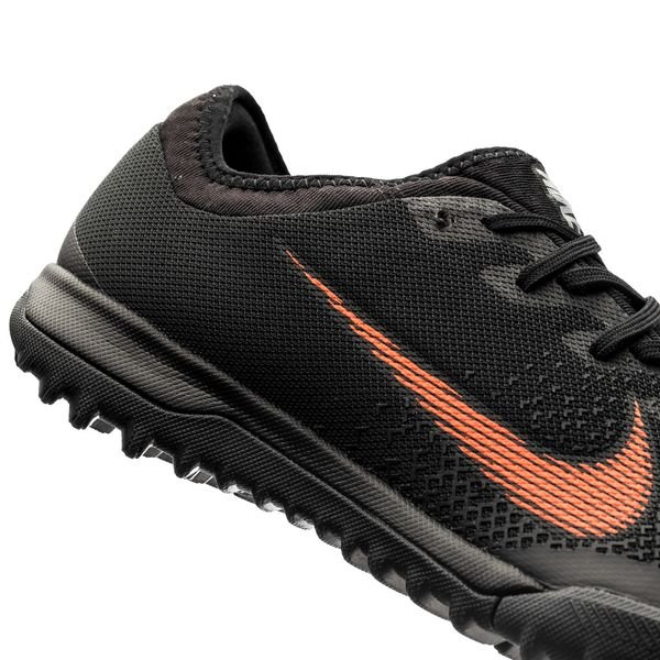 581f3fe563de Nike Mercurial VaporX 12 Pro TF Fast AF - Black/Total Orange/White ...