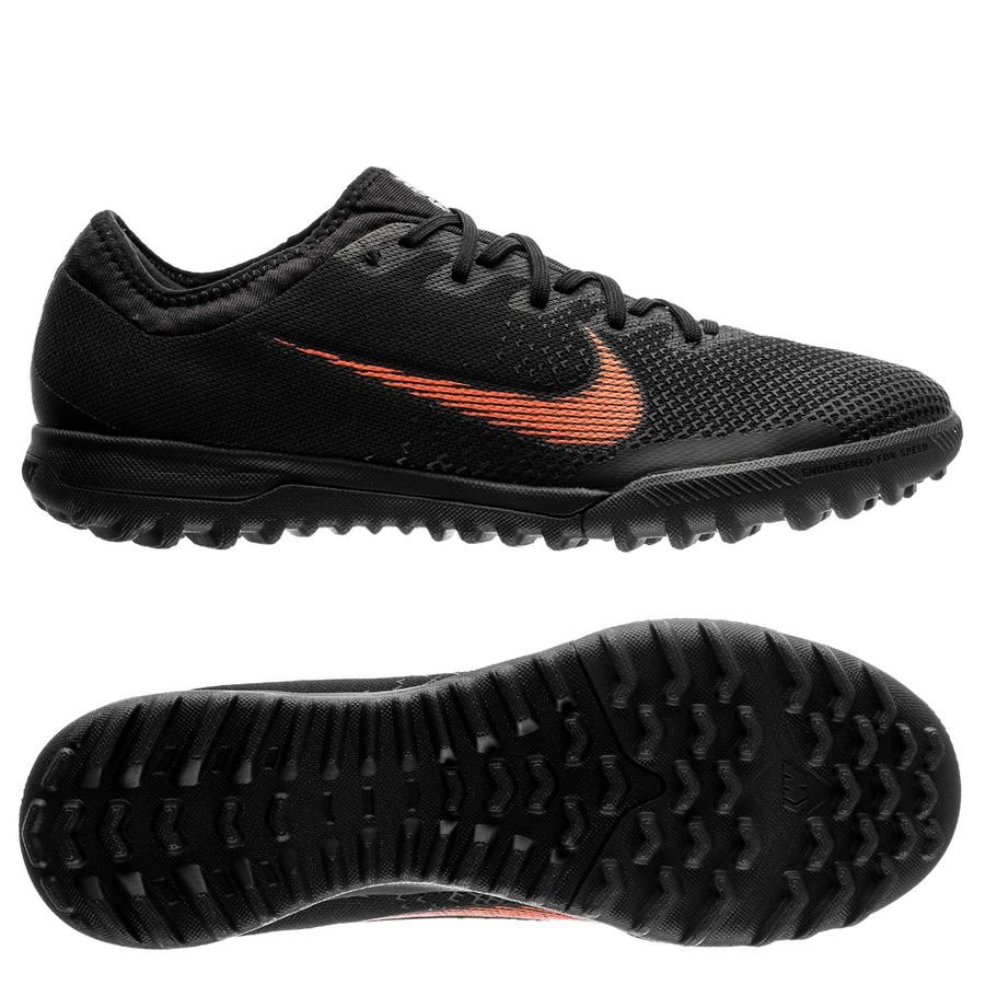Nike Mercurial VaporX 12 Pro TF Fast AF - Black Total Orange White ... 4620979a75cee