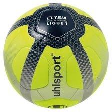 Uhlsport Fotboll Elysia Ligue 1 2017/18 Matchboll - Neon/Silver/Svart