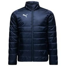 puma jakke liga casuals padded - navy/hvid - jakker