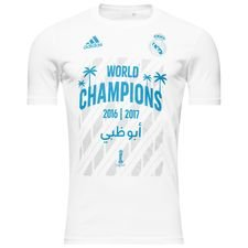 real madrid t-shirt club world cup winner 2016/17 - hvid - t-shirts
