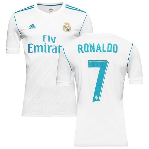 real madrid hjemmebanetrøje 2017/18 ronaldo 7 børn - fodboldtrøjer