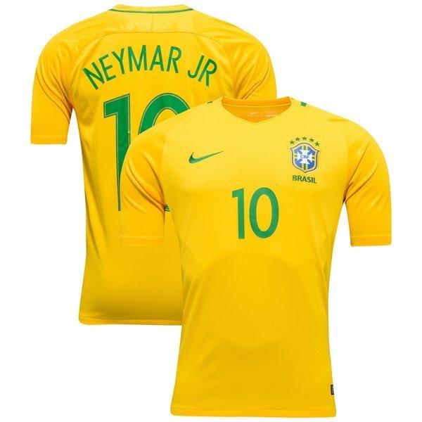 Lucas Moura Brazil 2016: Brazil Home Shirt 2016/17 NEYMAR JR. 10
