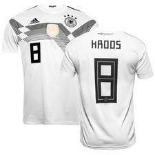 germany home shirt world cup 2018 kroos 8 - football shirts