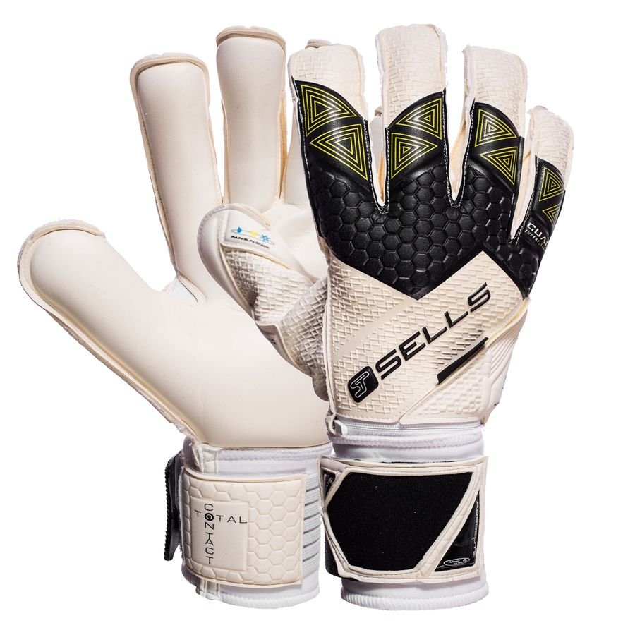 a55e12c69f3d Sells Goalkeeper Gloves Total Contact Elite Climate Guard -  Black White Green