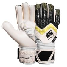 sells goalkeeper gloves silhouette elite climate guard - black/white/green - goalkeeper gloves