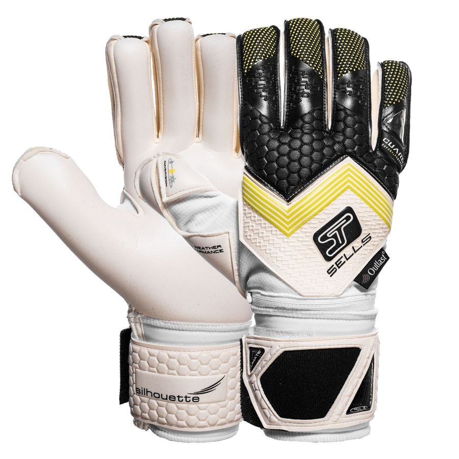 sells goalkeeper gloves silhouette elite climate guard black white