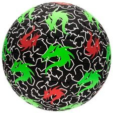 monta football streetmatch - black/green - footballs