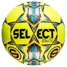 select football brillant super tb superettan - yellow/blue - footballs