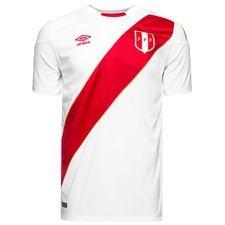 Peru hjemmebanetrøje 2018/19, som det Peruvianske landshold bruger under sommerens VM slutrunde i Rusland. Fremstillet i 100% polyester. *Det er desværre