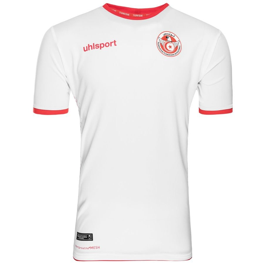 937d4b0e2 tunisia home shirt 2018 19 - football shirts ...