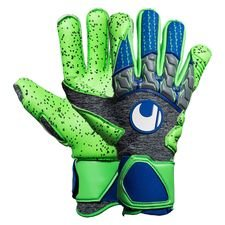 Uhlsport Målmandshandske TensionGreen Supergrip - Grå/Grøn/Navy