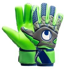 Uhlsport Målmandshandske TensionGreen Absolutgrip HN - Grå/Grøn/Navy