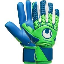 Uhlsport Keepershandschoenen Aquasoft HN Windbreaker - Groen/Blauw/Wit