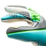 uhlsport målmandshandske tight absolutgrip hn - grå/turkis/grøn - målmandshandsker