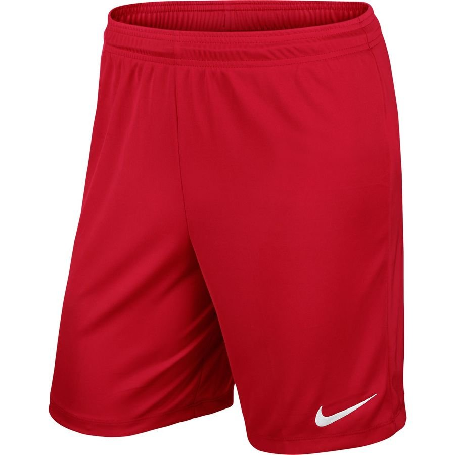 Nike Short Park II Knit - Rouge/Blanc