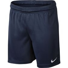 nike shorts park ii knit - midnight navy/white kids - football shirts
