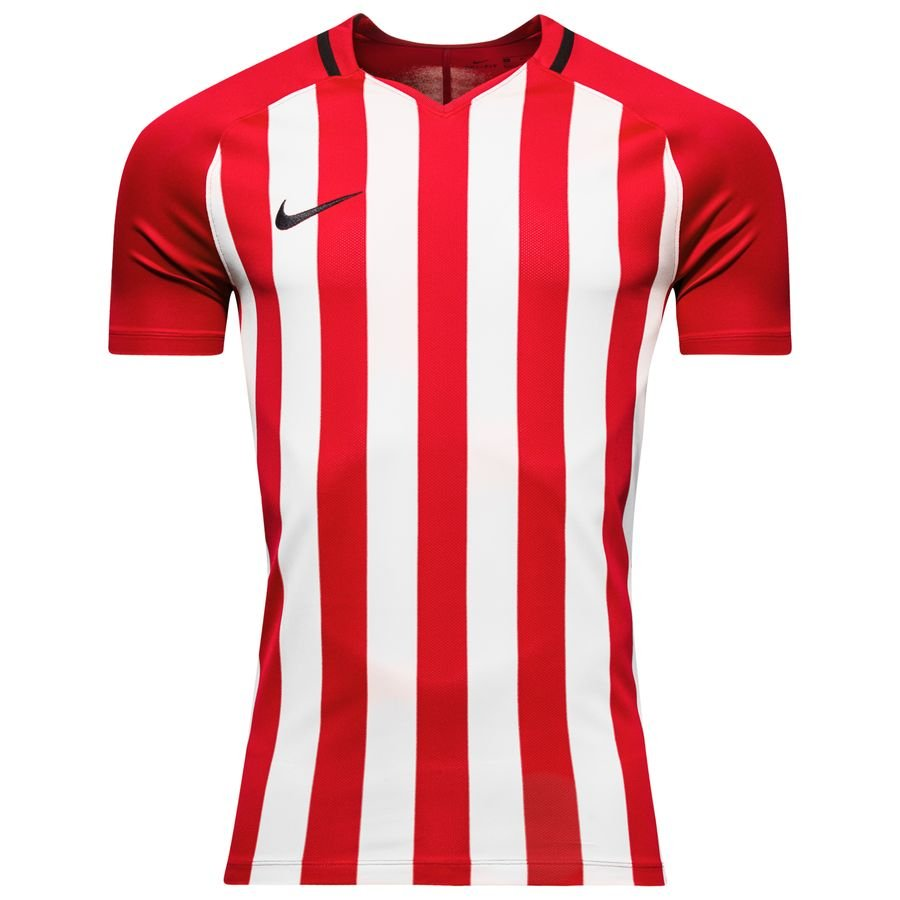 ec4f8ce9e nike playershirt striped division iii - university red white - football  shirts ...