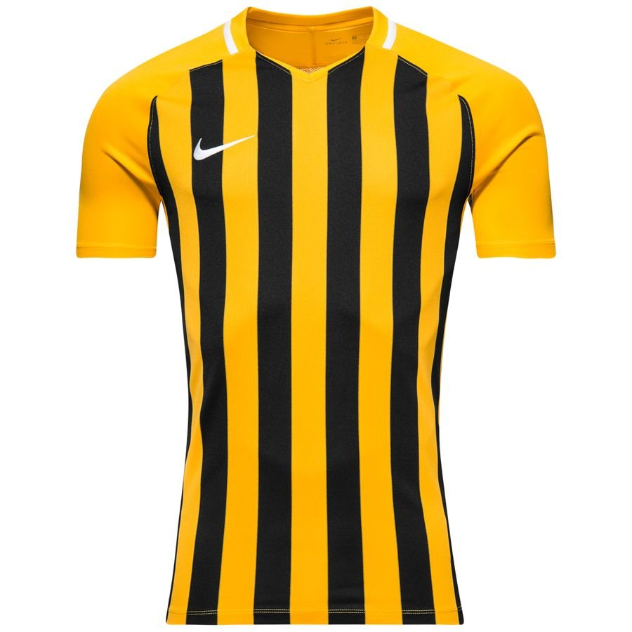 Nike Maillot Striped Division III - Jaune/Noir