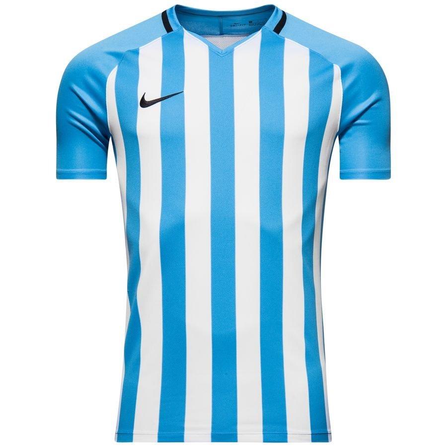 Nike Spilletrøje Striped Division III - Blå/Hvid Børn thumbnail