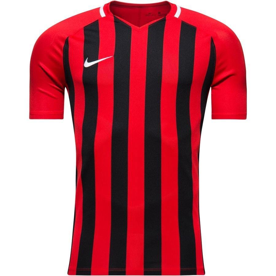 Nike Maillot Striped Division III - Rouge/Noir Enfant