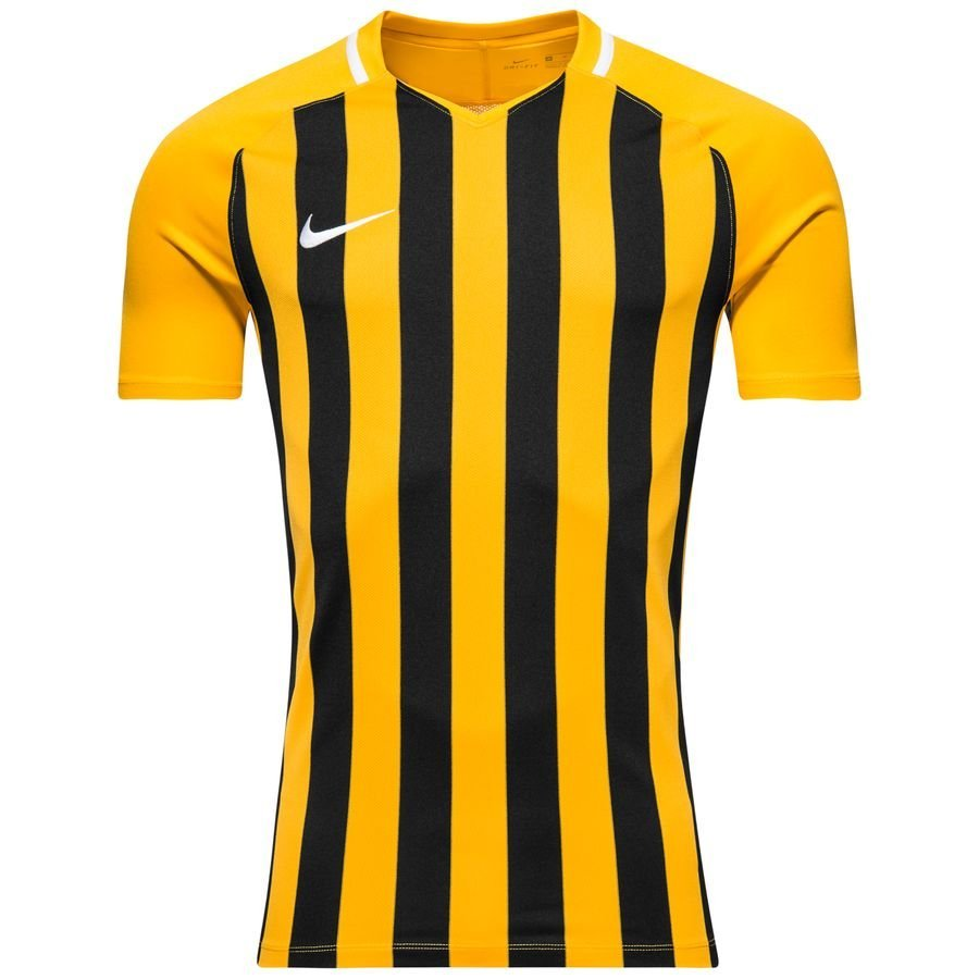 Nike Spilletrøje Striped Division III - Gul/Sort Børn thumbnail