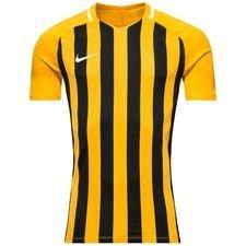 nike matchtröja striped division iii - gul/svart barn - fotbollströjor