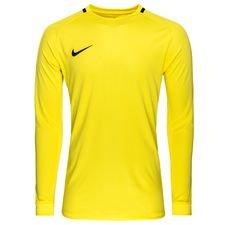 Nike målmandstrøje i et flot og moderne design. Trøjen er lavet med Nikes velkendte Dri-FIT materiale, som leder sved væk fra kroppen, så du holdes tør og ko