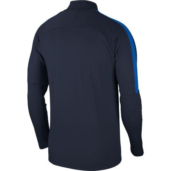 ... nike harjoituspaita dry academy 18 - navy sininen valkoinen -  harjoituspaidat 5d9cb1c18b