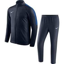 nike tracksuit dry academy 18 - obsidian/royal blue/white - track suits