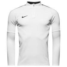 nike training shirt dry academy 18 - white/black kids - training tops