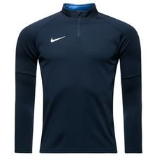 nike training shirt dry academy 18 - obsidian/royal blue/white kids - training tops