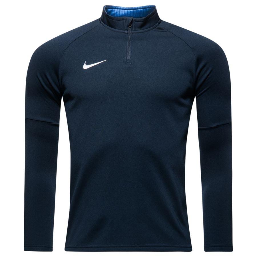 ffc34f5efb78 nike maillot d entraînement dry academy 18 - bleu foncé bleu blanc enfant  ...