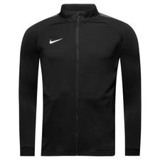 nike track jakke dry academy 18 - sort/grå/hvid børn - jakker