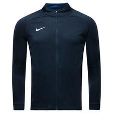 nike track jakke dry academy 18 - navy/blå/hvid børn - jakker