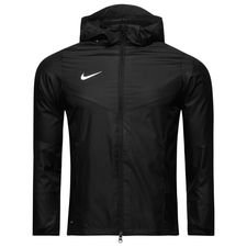 nike rain jacket academy 18 - black/white kids - jackets